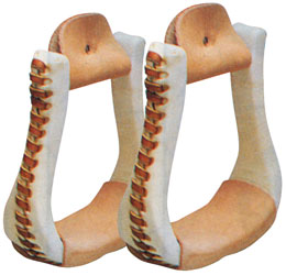 Bell Bottom Stirrups