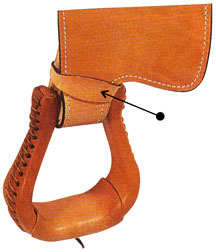 Stirrup Leather Hobble Strap